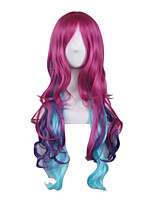 Cosplay Wigs for Women Costume Electronic music queen Long Culy Wig