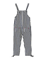 Girls' Casual/Daily Striped Overall & Jumpsuit Spring
