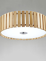 Flush Mount   Modern/Contemporary Feature for LED PVC Living Room Bedroom Dining Room Study Room/Office Hallway