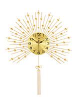 Modern Creative Pendulum Metal Mute Wall Clock