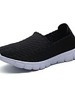 Черный Серый Синий-Для мужчин-Повседневный-ПолиуретанУдобная обувь Мокасины-Мокасины и Свитер