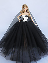 Party/Evening Dresses For Barbie Doll For Girl's Doll Toy