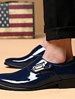-Для мужчин-Повседневный-Кожа-На плоской подошве-Удобная обувь-Мокасины и Свитер