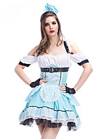 2017 Amazing Maid Costume Adutl Fantasia Cosplay Kigurumi Sexy Halloween Maid Costumes for Women Carnival Sexy Party Fancy Dress Outfits
