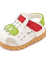 Kids' Sandals Summer First Walkers Cowhide Casual Flat Heel Blue Brown White
