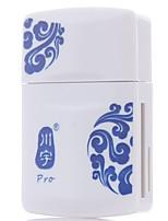 Lecteur de carte kawau usb2.0 lecteur de carte multifonction support carte micro sd tf / carte sd / clé USB