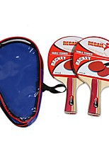 2 Stars Ping Pang/Table Tennis Rackets Ping Pang Rubber Short Handle Others Indoor-Other