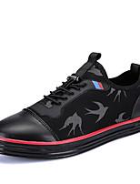 Herren-Sneaker-Büro Lässig Sportlich-Leinwand Tüll-Flacher Absatz-Komfort-