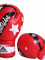 Boxing Gloves for Boxing Full-finger Gloves Protective Nylon Leather Blue Red