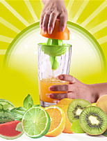 1 Pcs Plastic Hand Manual Orange Lemon Juice Press Squeezer Convenient Fruits Squeezer Citrus Juicer Fruit & Vegetable Tools Random Color