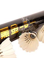 12PCS Sport de détente Volants Etanche Indéformable Durable Stabilité pour Plume d'oie