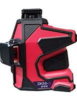 Deke® 3D 635nm Infrared Red Laser Marking Instrument Leveling Line Laser