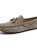 -Для мужчин-Для прогулок Повседневный-Кожа других животных-На плоской подошве-Удобная обувь-Мокасины и Свитер