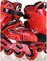 Women's Men's Unisex Inline Skates Wearable Wearproof Comfortable Red