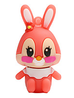 Hot cartoon novo coelho usb 2.0 128gb flash drive memory stick