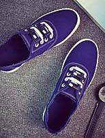-Для мужчин-Повседневный-Полотно-На плоской подошве-Удобная обувь-Мокасины и Свитер