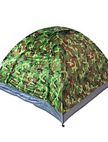 2 personnes Tente Unique Une pièce Tente de campingCamping Voyage-Camouflage