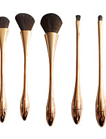 Contour Brush Blush Brush Eyeshadow Brush Brow Brush Powder Brush Synthetic Hair Professional Travel Full Coverage Portable ResinFace Eye
