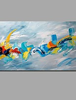 Hand-Painted Color  Abstract Modern Oil Painting On Canvas With Stretched Frame  Ready To Hang
