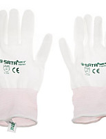 Les six gants pu / 1 paire (dip) protection industrielle