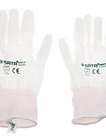 Шесть пу перчатки / 1 пара (dip) промышленной защиты