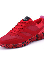 Men's Athletic Shoes Spring Fall Comfort PU Outdoor Flat Heel Lace-up