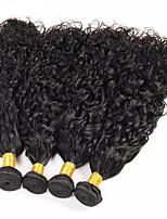 Человека ткет Волосы Малазийские волосы Волнистые 12 месяцев 4 предмета волосы ткет