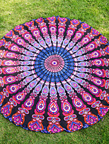 Beach Towel Reactive Print High Quality Bohemian Style 100% Chiffon Shade Towel 140*140cm