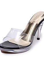 Damen-High Heels-Kleid Lässig-Silica Gel-Stöckelabsatz-Komfort-