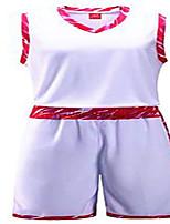 Homme Manches courtes Basket-ball Ensemble de Vêtements/Tenus Cuissards Respirable Confortable Blanc Noir Jaune Rouge Bleu L XL XXL XXXL