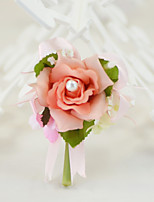 Yuxiying Wedding Flowers Roses Boutonnieres Cotton Silk