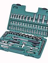 Sata® 09013 86pc 6.3x12.5mm Profi-Schraubenschlüssel Werkzeug-Set mit Werkzeugkasten