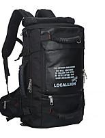 Men Sports & Leisure Bag Nylon All Seasons Sports Climbing Outdoor Professioanl Use Camping & Hiking Zipper Black