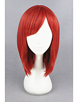 Short love live! -nishikino maki rouge synthétique 16inch perruque cosplay anime cs-181c