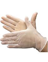 Gant élastique en pvc jetable moyen / 1 boîte