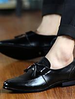 -Для мужчин-Для прогулок Повседневный-Полиуретан-На низком каблуке-Удобная обувь-Мокасины и Свитер