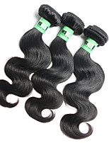 3 Bundles/ Lot 4A 14 Inch Malaysian Body Wave Human Hair Weave