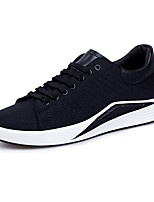 Men's Sneakers Spring Fall Comfort PU Casual Black