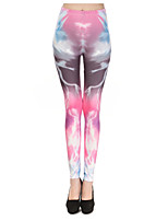 Women's Yoga Pants  Aurora Printed Leggings