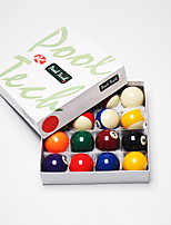 Billiard Balls Pool Case Included Resin