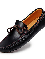 Business British Style Funny Casual Men's High Quality Slip-on Leather Dress Shoes for Party/Office/Wedding