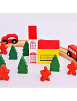 Building Blocks Educational Toy For Gift  Building Blocks Car House Bus Wood 2 to 4 Years 5 to 7 Years Toys