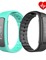 0.96 OLED Heart Rate Monitor Smart Band Wristband with Fitness Tracker Sport Smart Bracelet