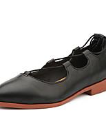 Fladsko-Læder-Komfort-Damer--Udendørs Fritid-Flad hæl