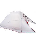 2 personnes Tente Double Tente pliable Une pièce Tente de camping Garder au chaud Pliable-Camping-Gris