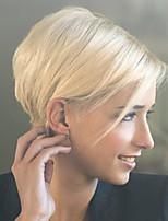 bezaubernd elegant gerade kurze Menschenhaarperücke schöne Frau Haar