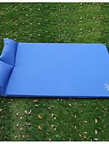 Feuchtigkeitsundurchlässig Aufgeblasene Matte Blau Wandern Camping Reisen