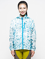 LEIBINDI® Women's Jacket Tops Hiking Fishing Breathable Quick Dry Windproof Ultraviolet Resistant Windproof Light Jacket