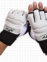 Спортивные перчатки Перчатки для занятий спортом для Тхэквондо Без пальцев Износостойкий Защитный ГубкаПерчатки