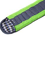 Sleeping Bag Rectangular Bag Single -10 20 T/C Cotton 190X75 Camping Moistureproof/Moisture Permeability Keep Warm